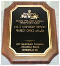 Productive Plastics People's Choice Award Society of Plastics Engineers 2011