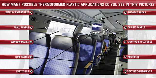 Plastic Thermoforming for Transportation Interiors