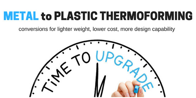 Should You Upgrade Your Sheet Metal Parts and Enclosures to Plastic Thermoforming?
